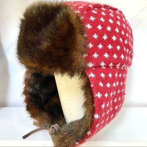 ❤️Roots RUSSIAN style winter hat with fur ❤️